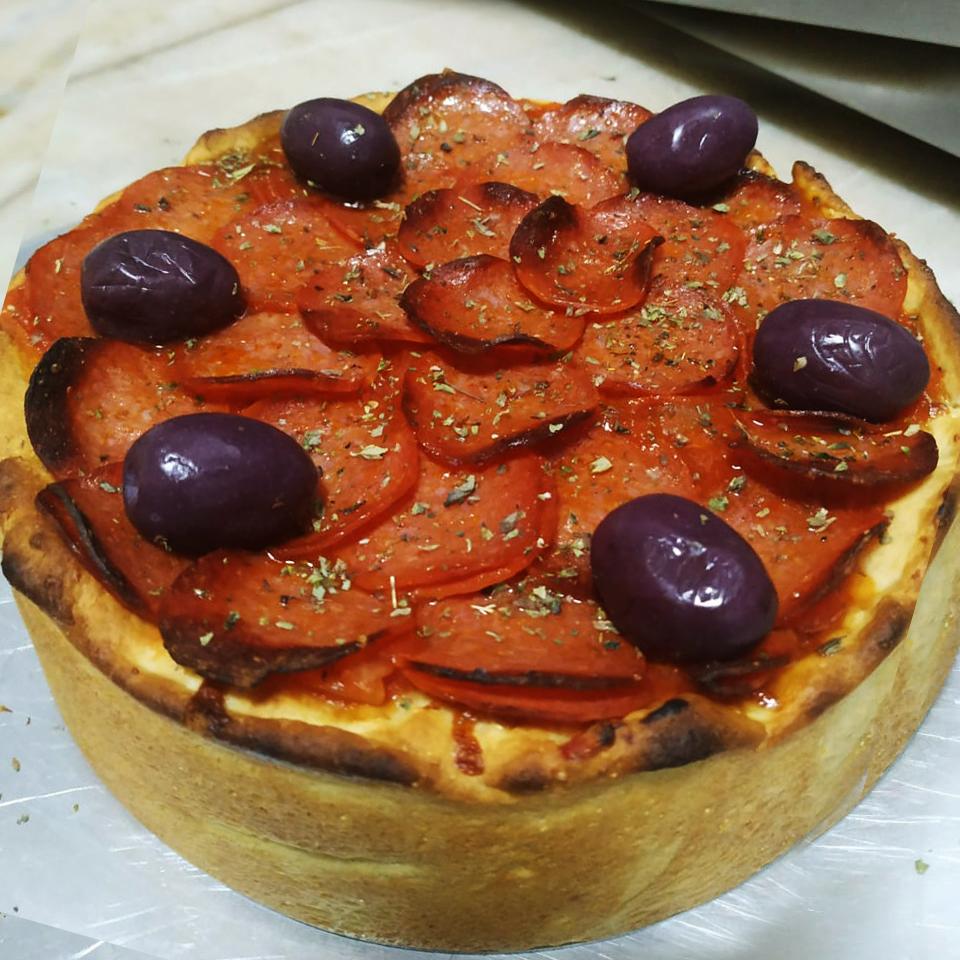 Deep Dish Pizza - Pizzaria Antártico - Pizzaria Delivery no Jd. do Mar - São Bernardo do Campo (SBC)